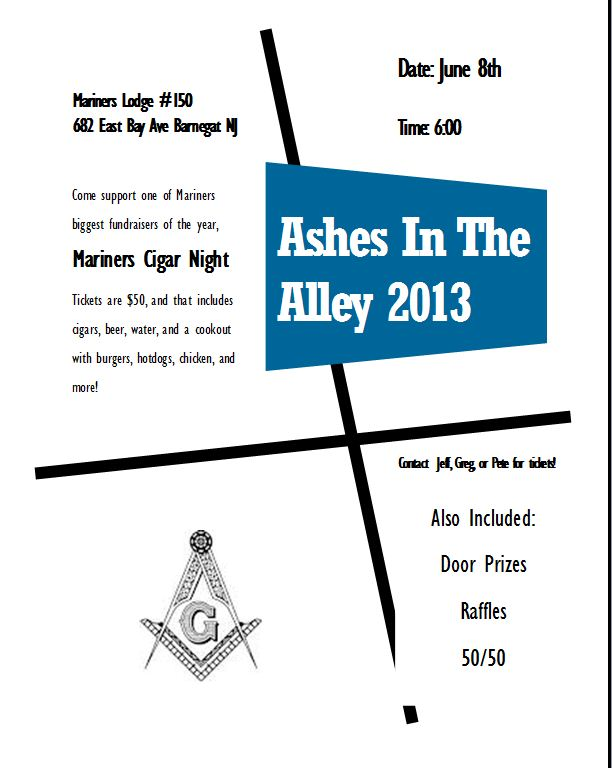 Ashes In The Alley 2013