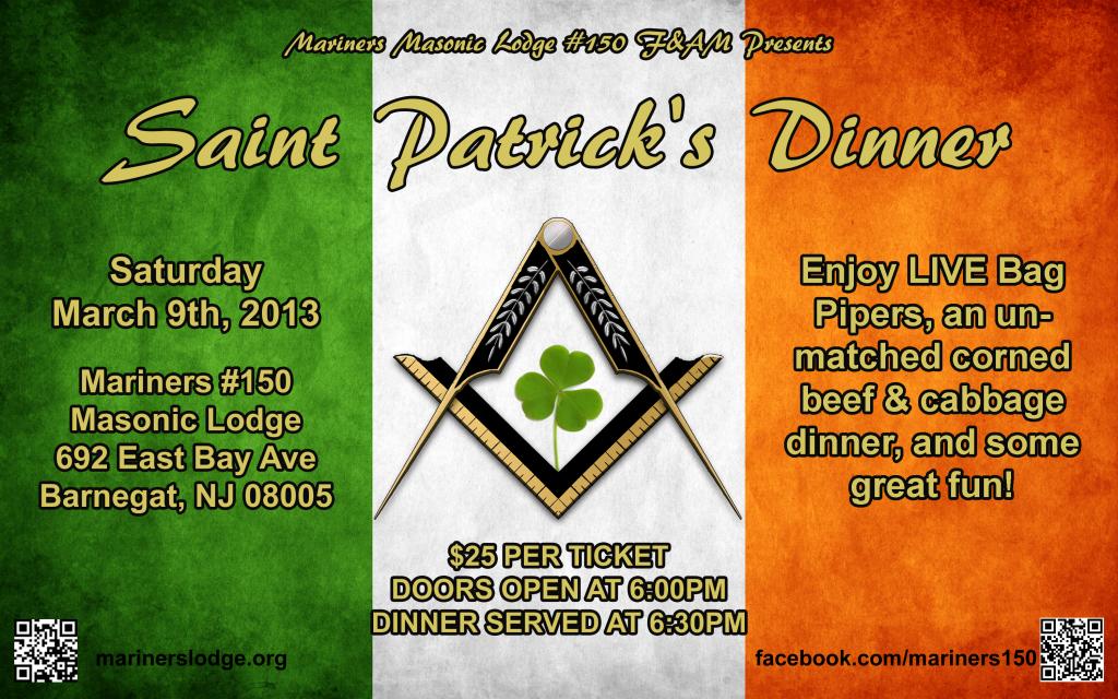 St Pats flyer
