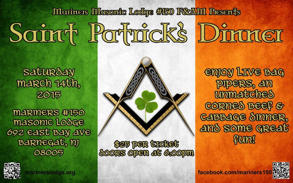 St Pats flyer2015